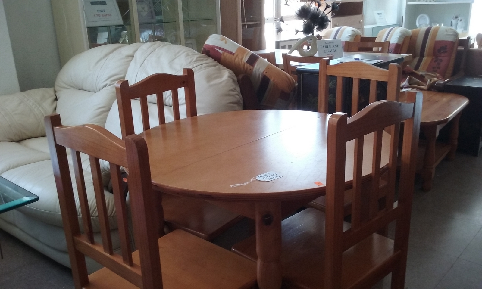 New2you Furniture Second Hand Tables Chairs For The Dining Room Kitchen Living Room Ref