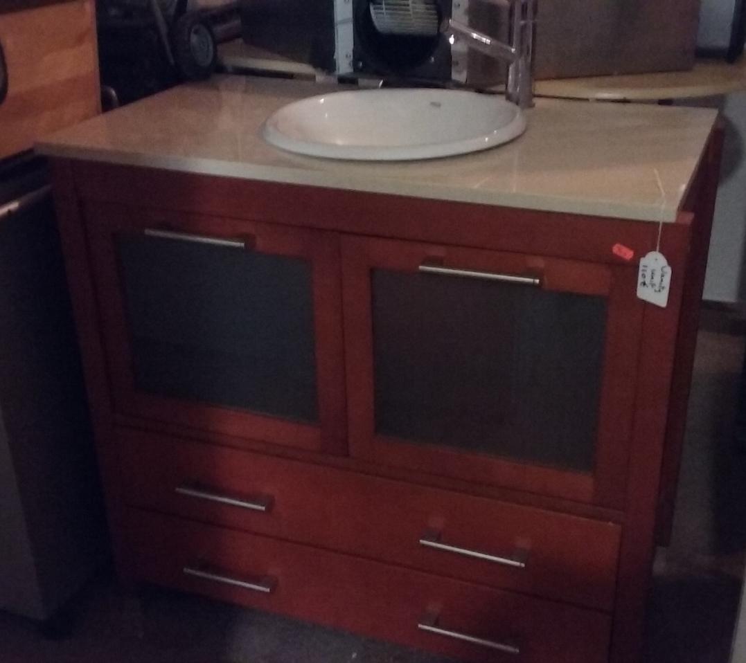 Second Hand Furniture Bathroom Vanity Unit Sold For Torrevieja Spain