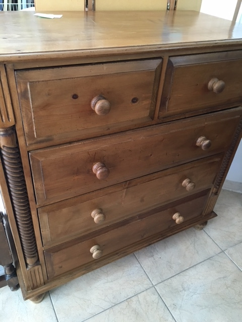 New2you Furniture Second Hand Chest Of Drawers For The Bedroom Living Room Ref D232