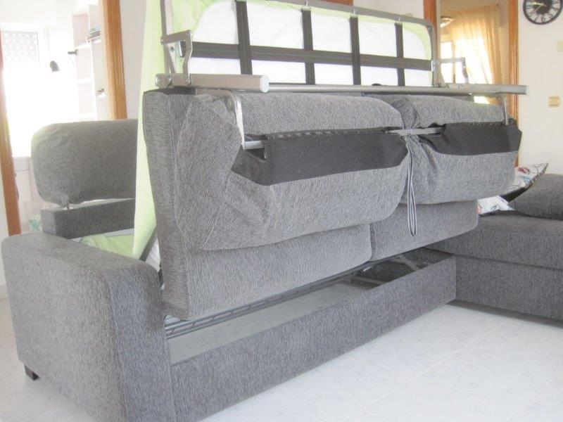 Crawford armless sleeper single sofa