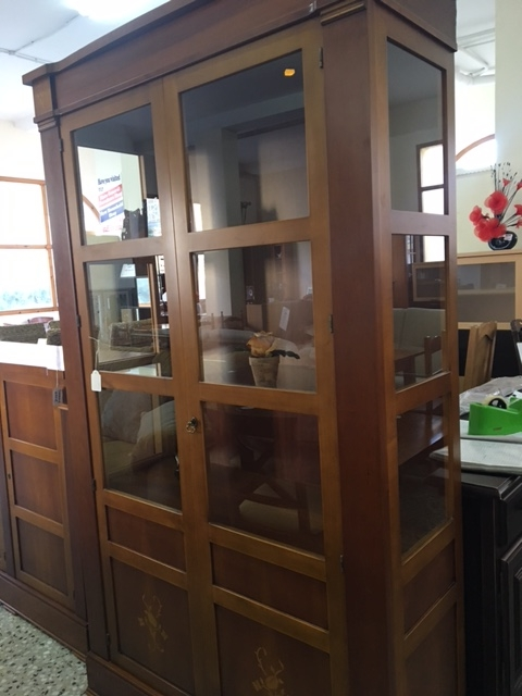 Second Hand Furniture Glass Cabinet For Sale Torrevieja Spain