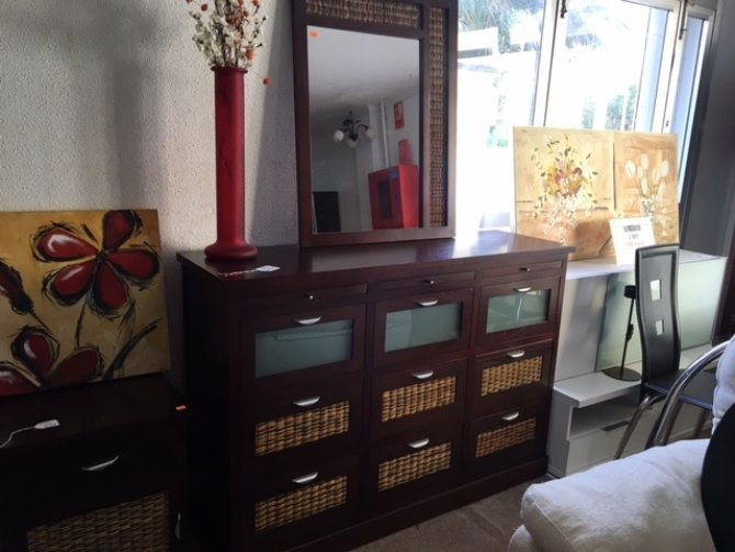 Second-hand furniture Sideboard and Mirror, Torrevieja, Spain