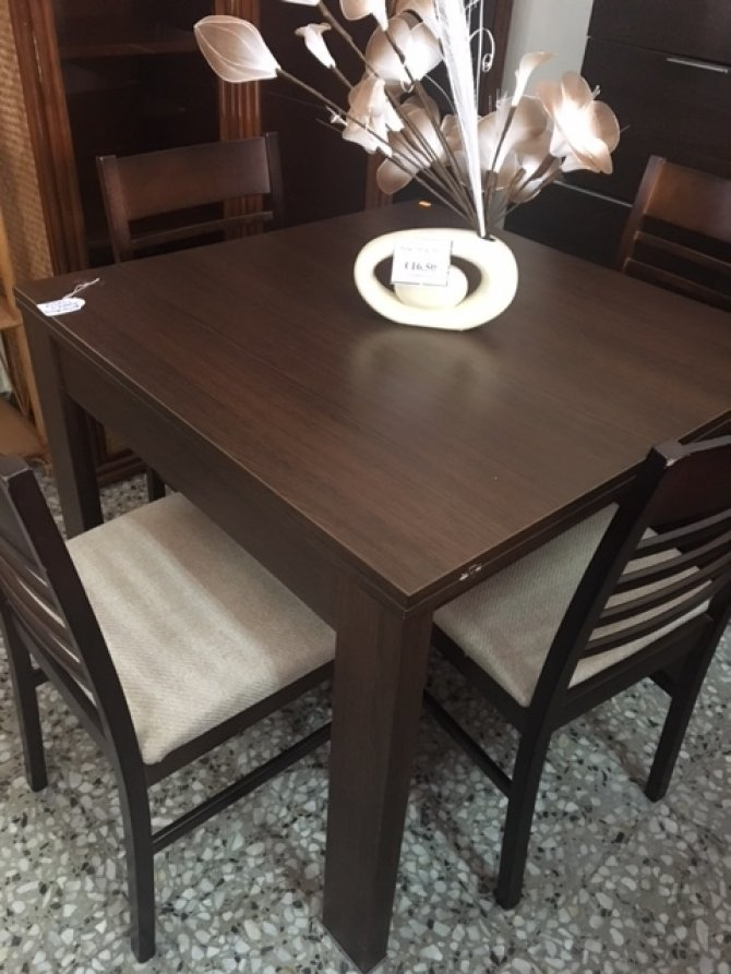 New2you furniture second hand tables chairs for the dining room living room ref g785 - Second hand dining room tables ...