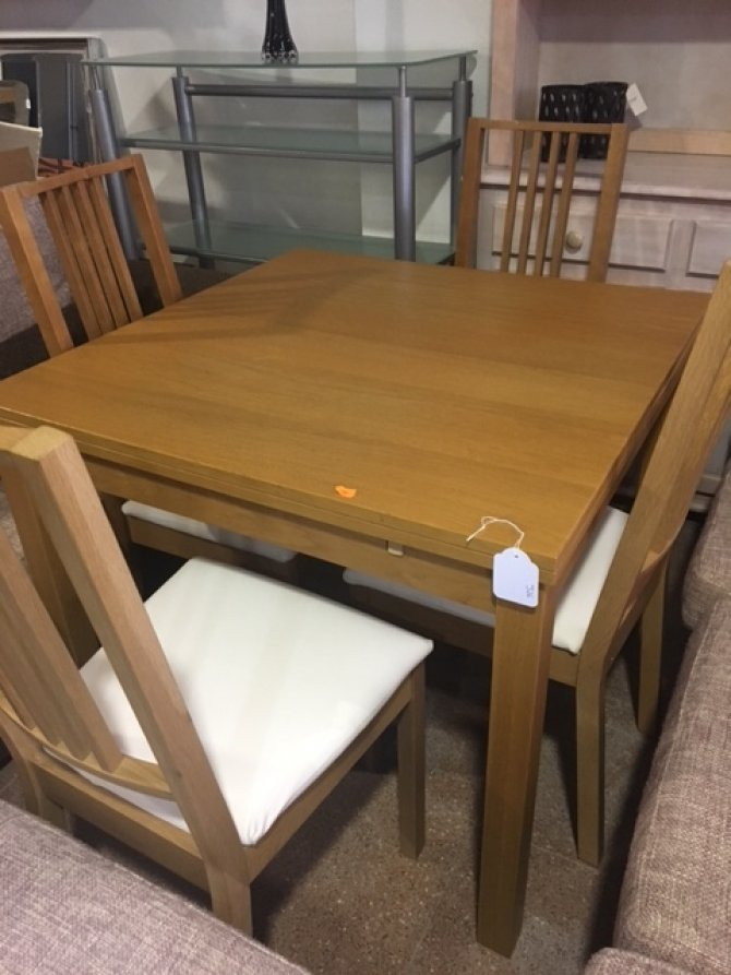 Second-hand furniture Extending Table and Chairs, Torrevieja, Spain