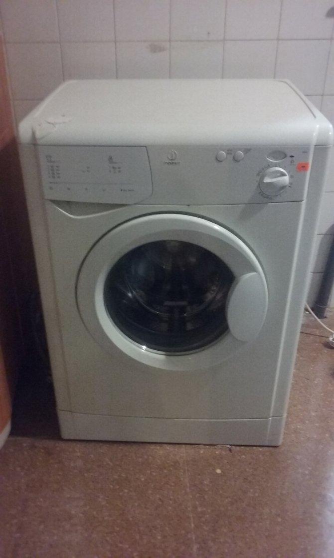 Second-hand furniture Indesit Washing Machine, Torrevieja, Spain