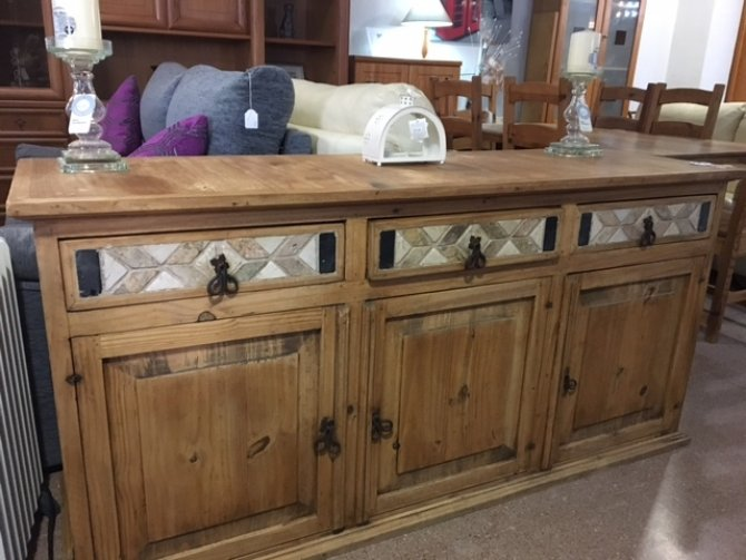 Second-hand furniture Rustic Sideboard, Torrevieja, Spain