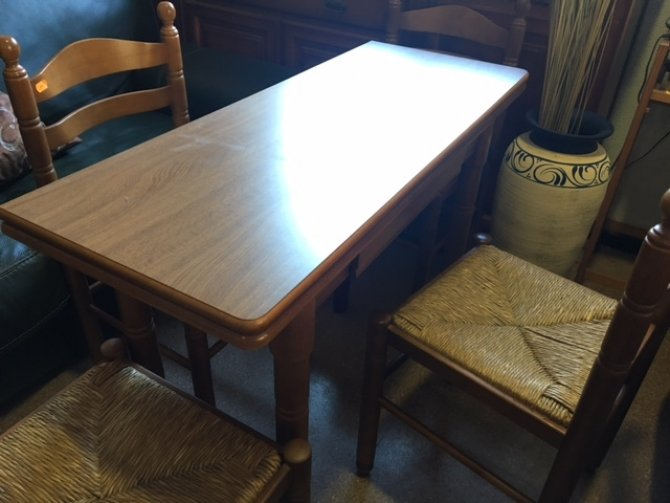 Second-hand furniture Fold Over Table and Chairs, Torrevieja, Spain