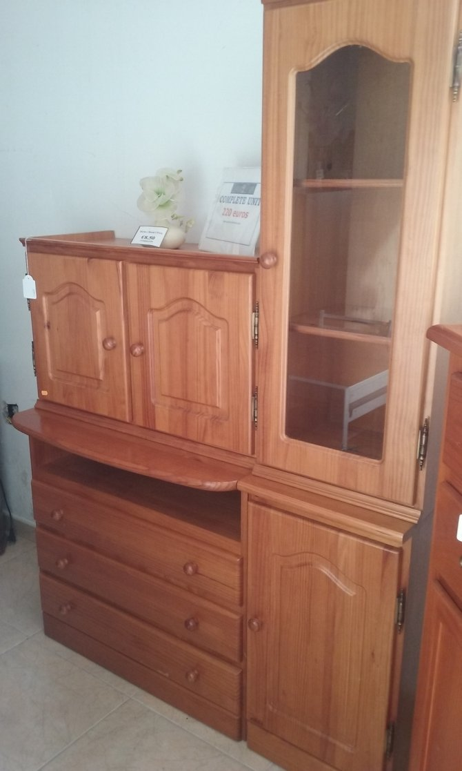 Second-hand furniture Pine Modular Unit, Torrevieja, Spain
