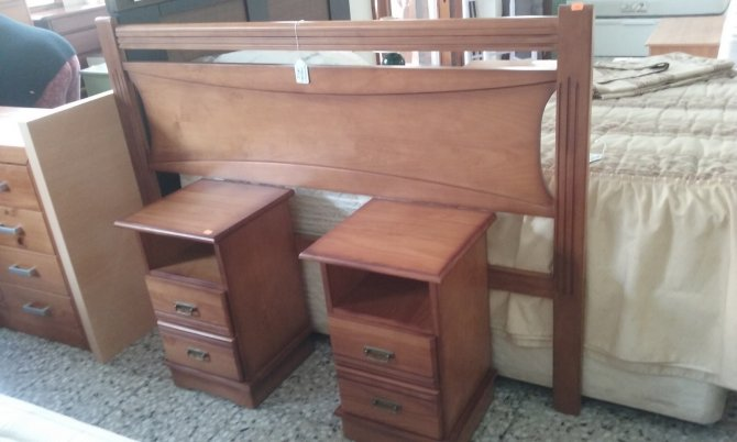 Second-hand furniture Headboard and a Pair of Bedsides, Torrevieja, Spain