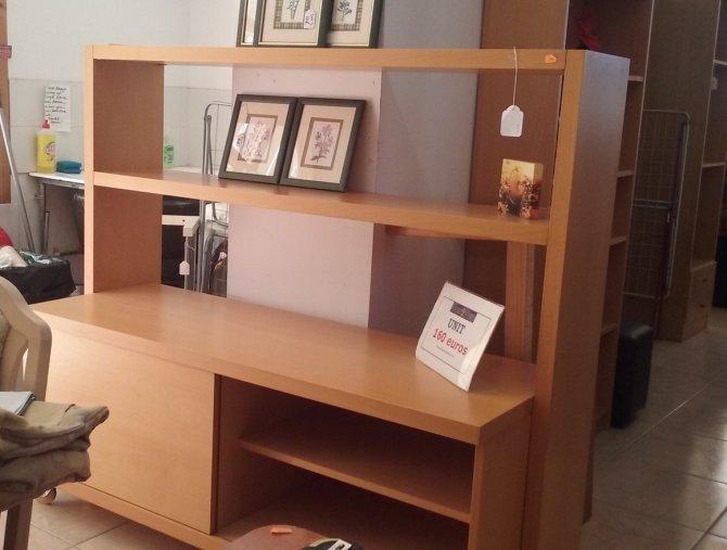 Second-hand furniture TV Shelf Unit, Torrevieja, Spain