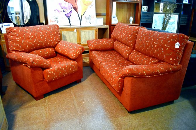 Second-hand furniture 3 Seater Sofa and Armchair, Torrevieja, Spain
