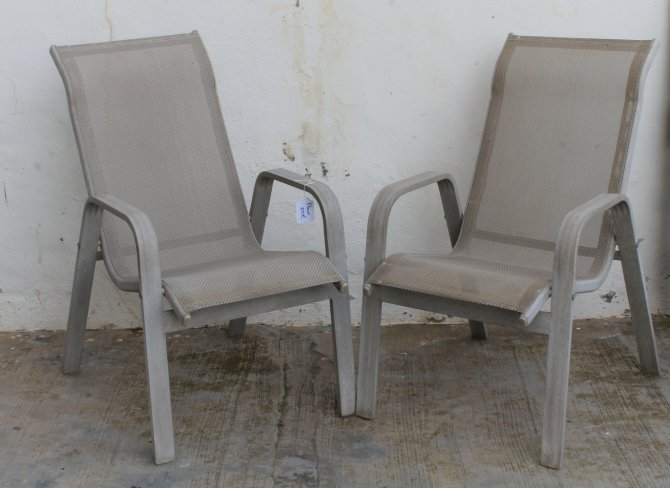 Second-hand furniture Pair of Patio Chairs, Torrevieja, Spain