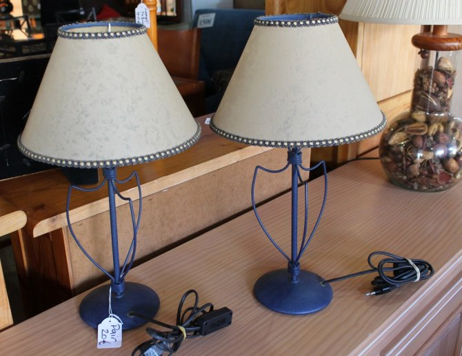 Second-hand furniture Pair of Lamps, Torrevieja, Spain