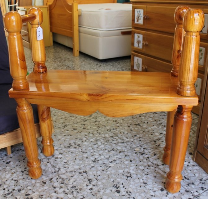 Second-hand furniture Pine Seat, Torrevieja, Spain