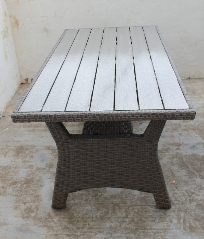 Second-hand furniture Rattan Table, Torrevieja, Spain