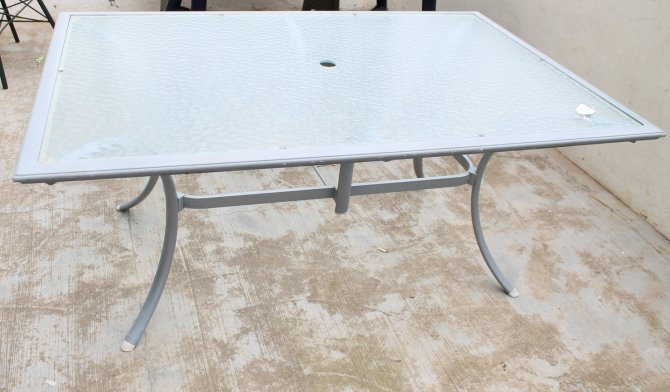 Second-hand furniture Patio Table, Torrevieja, Spain