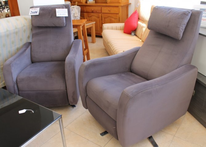 Second-hand furniture Pair of Recliner Chairs, Torrevieja, Spain