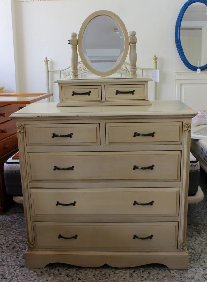 Second-hand furniture Dressing Table, Mirror & Pair of Bedsides, Torrevieja, Spain