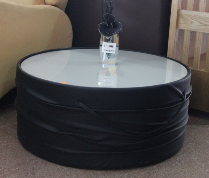Second-hand furniture Round Coffee Table, Torrevieja, Spain