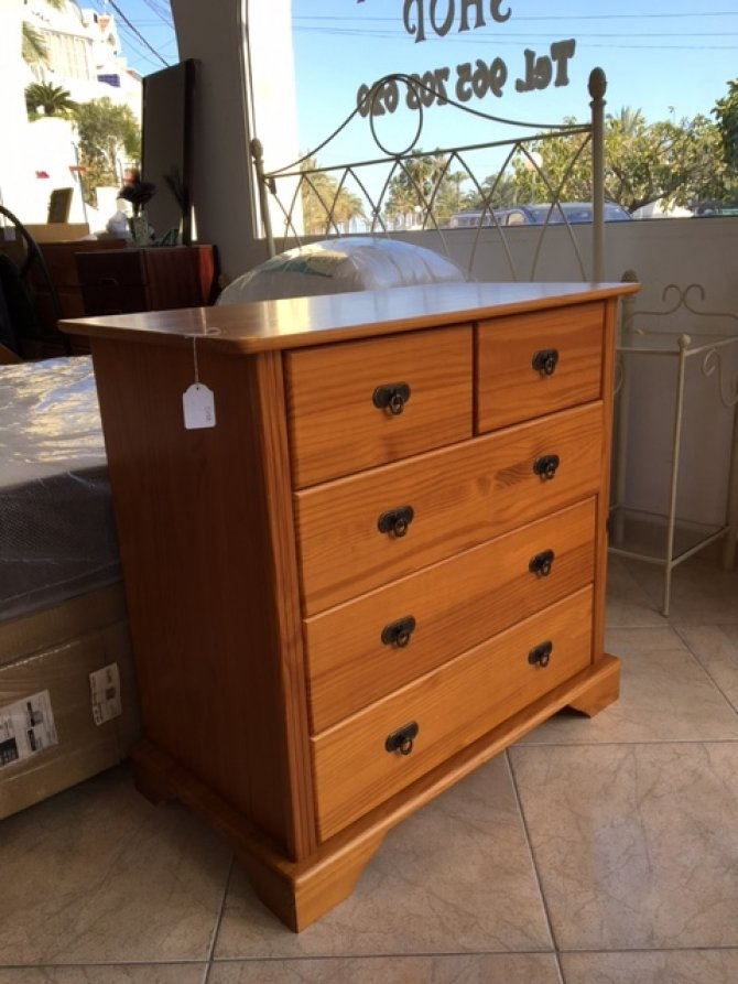 New2you Furniture Second Hand Chest Of Drawers For The Bedroom Living Room Ref D158