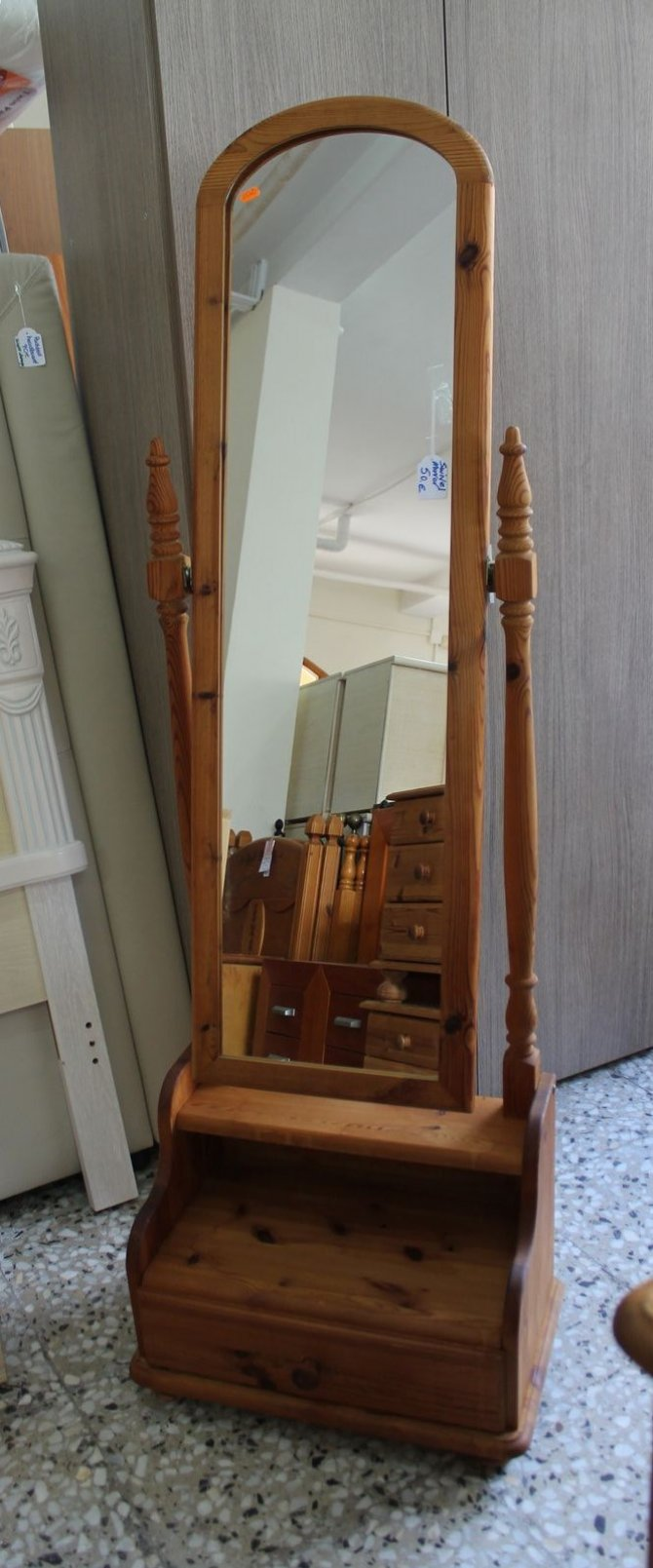 Second-hand furniture Cheval Mirror, Torrevieja, Spain