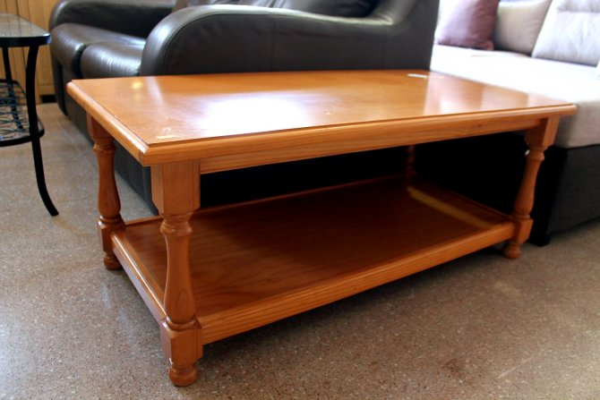 Second-hand furniture Pine Coffee Table, Torrevieja, Spain