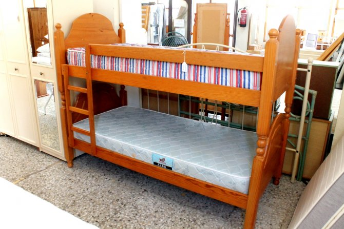 Second-hand furniture Pine Bunk Beds, Torrevieja, Spain