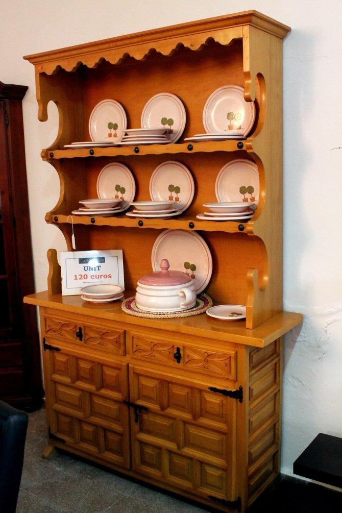 Second-hand furniture Castillian Unit, Torrevieja, Spain