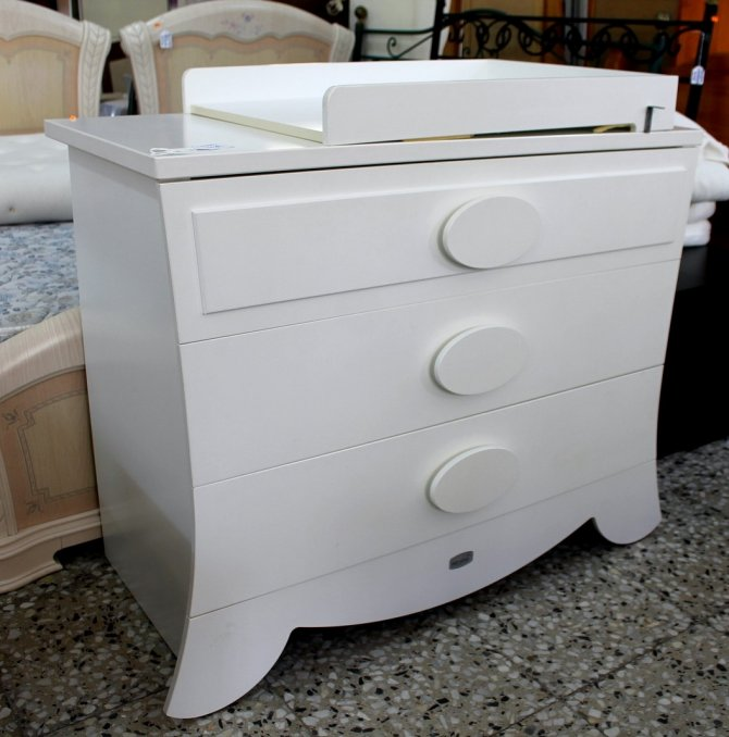 Second-hand furniture Drawers and Changing Mat, Torrevieja, Spain