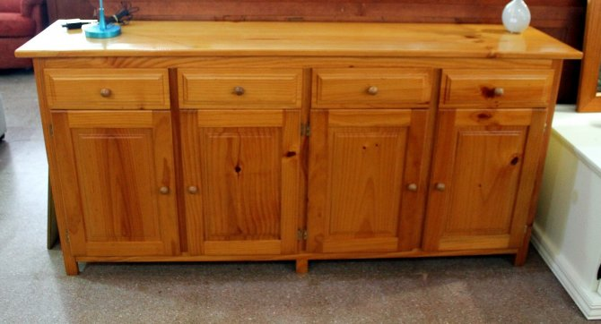 Second-hand furniture Pine Sideboard, Torrevieja, Spain