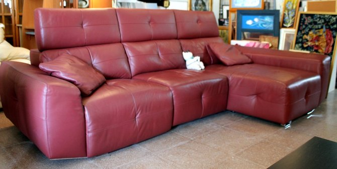 Second-hand furniture Electric recliner sofa Chaise, Torrevieja, Spain