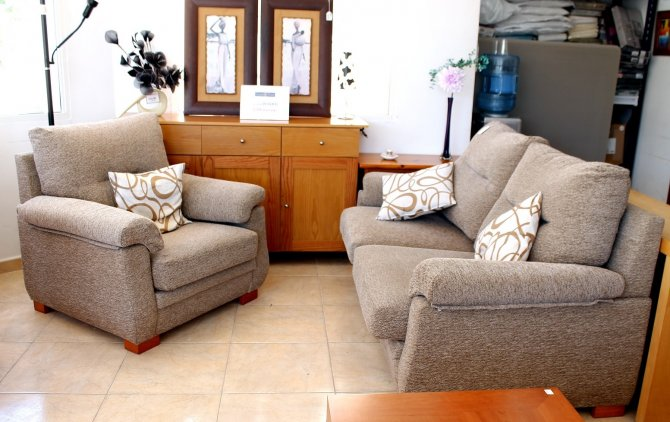 Second-hand furniture Sofabed and Chair, Torrevieja, Spain