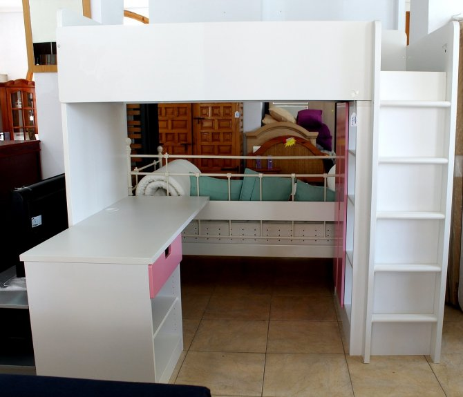 Second-hand furniture High bed unit, Torrevieja, Spain