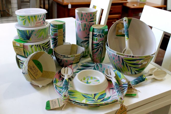 Brand new household items Environmentally friendly bamboo tableware, Torrevieja, Spain