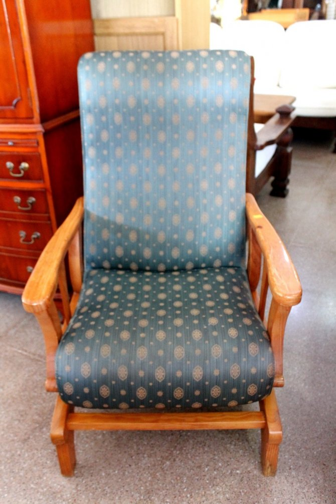 Second-hand furniture Rocking Chair, Torrevieja, Spain