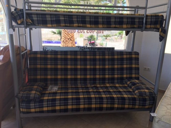 Second-hand furniture Bed unit and sofabed, Torrevieja, Spain