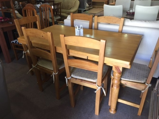 New2you furniture second hand tables chairs for the dining room living room ref f343 - Second hand dining room tables ...