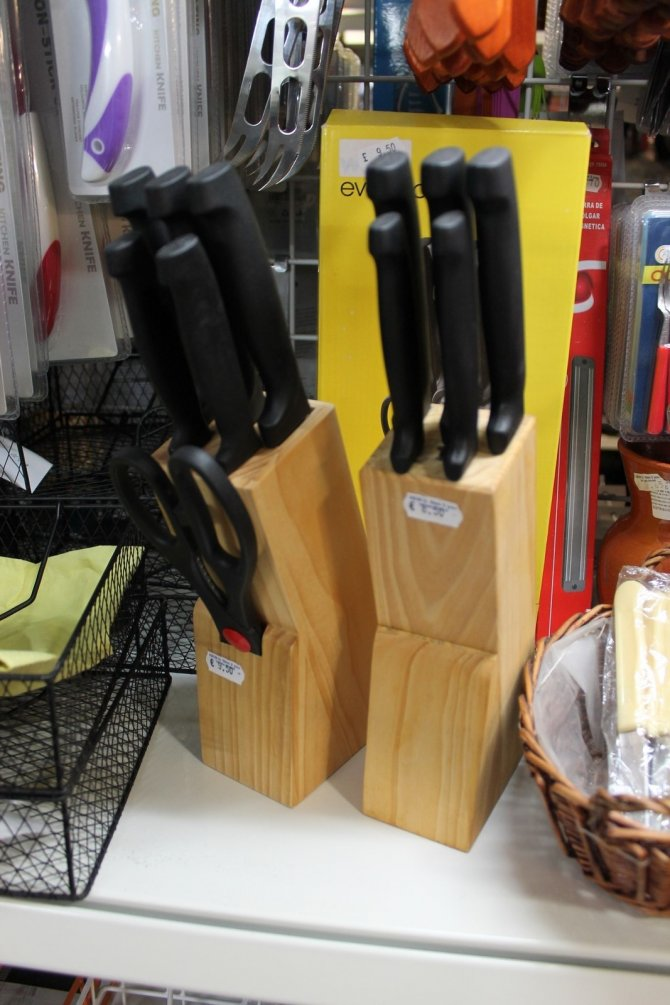 Brand new household items Knife Blocks, Torrevieja, Spain