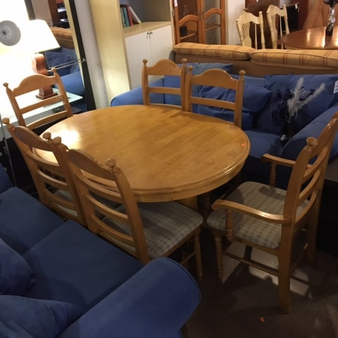 New2you furniture second hand tables chairs for the dining room ref f746 torrevieja spain - Second hand dining room tables ...