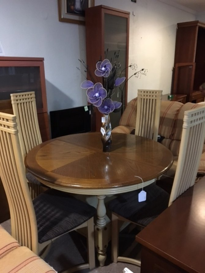 New2you furniture second hand tables chairs for the dining room living room ref d522 - Second hand dining room tables ...