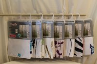 Shower curtains and poles for sale, Torrevieja, Spain
